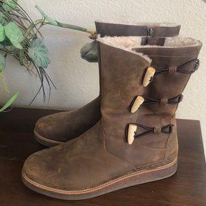 UGG 1012035 KAYA WOMEN'S BOOTS CHOCOLATE SUEDE